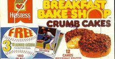 1970s snack foods | 1970's Hostess Crumb Cakes | Old school stuff ...