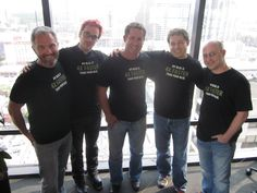 CEO's and Investors wearing the WPEngine Love!