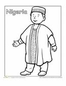 a coloring sheet for 1st graders about people from around the world this picture is