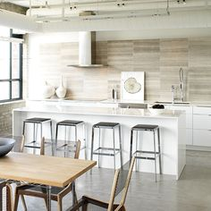 dig the bar stools and concrete floors. Photo Copyright: Mark Burstyn