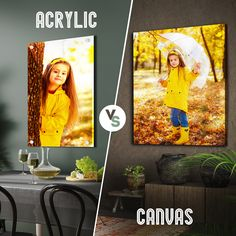 Acrylic & canvas printing both having advantages & disadvantages, depending on their use. Acrylic Photo Prints, Print Your Photos, Acrylic Canvas, New Print, Photo Canvas, Custom Photo, Bold Colors, Photo Gifts, Things To Come
