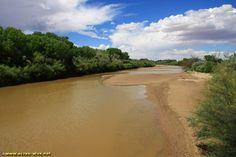 Le Rio Grande a San Antonio - Nouveau Mexique - USA