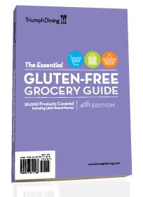 Over 30,000 brand name and store brand gluten free products