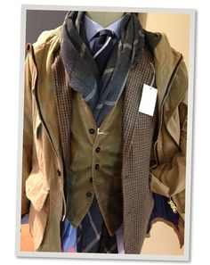 Man 1924 Corduroy Vest Fall-Winter 2014
