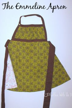 The Emmeline Apron Pattern- fun, easy, and beautiful!