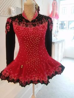 Exquisite Pink AveCeltic Irish Dance Dress Solo Costume For Sale