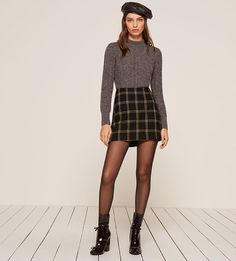 Autumn Skirt #Style #look #fashion #female #woman #clothes #streetstyle #photooftheday #clothing #fashionstyle #fashioninspo #trend #trends #trendy #styleoftheday #usa #america #clothing #ad