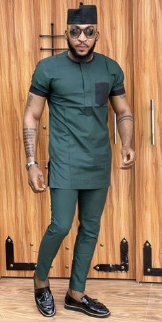 African men's clothing / African fashion/ wedding suit/dashiki / African men's shirt/ vêtement africain/ chemise et pantalon/ Ankara styles African Wear Styles For Men, African Shirts For Men, African Dresses Men, African Attire For Men, African Clothing For Men, African Male Suits, African Style, African Women, Indian Suits