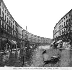 """If London Were Like Venice"", 1899 - Retronaut"