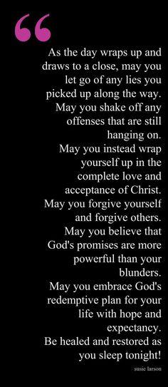 Christian's Prayer