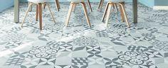 Sol vinyle Texas New Feliz - Saint Maclou Floor Patterns, Tile Patterns, Dalle Pvc, Sol Pvc, Vinyl Flooring, Tile Design, Wall Tiles, Cement Tiles, Decoration