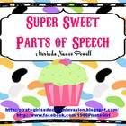 Your students will think this parts of speech activity is the SWEETEST. It is a grammar sorting activity that focuses on nouns, verbs, and adjectiv...