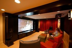 Get online home theatre setup In Brisbane with amazing sound quality and change your beautiful home into a home theatre.