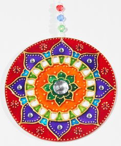 Mandalas Cd Crafts, Fabric Painting, Stencils, Art Projects, Kiwi, Flora, The Incredibles, Cool Stuff, Holiday Decor