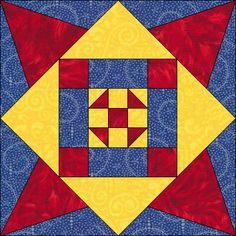Dream Castle Quilts - Philadelphia star block