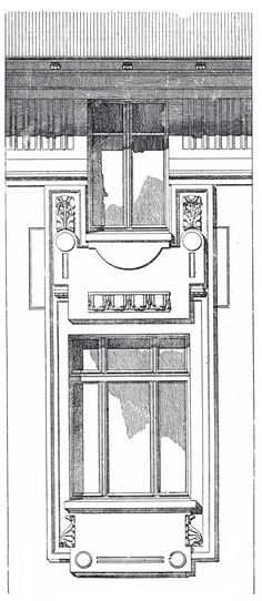 """House officers at the station """"Hutteldorf"""" Vienna railway. Architect Otto Wagner. The architecture of the second half of the XIX century. Drawings and sketches."""