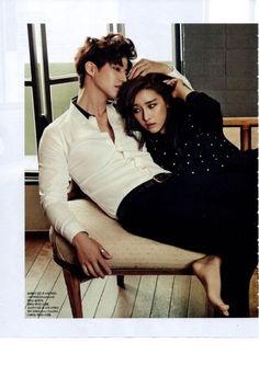 Song Jae Rim & Kim So Eun for Allure Korea Mag Dec issue