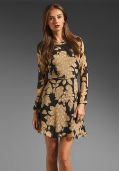 fashion & style - ShopStyle: Shoshanna Burano Floral Carla Dress