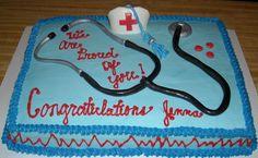 nurse_graduation_cake_2.jpg - nursing graduation cake. everything on cake is edible made with MMF this is 1/2 sheet 11x15 cake.