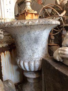 Decorative Large Urns Prepossessing Urn And Statue  Vintage Garden Urns & Statues  Pinterest  Urn Decorating Design