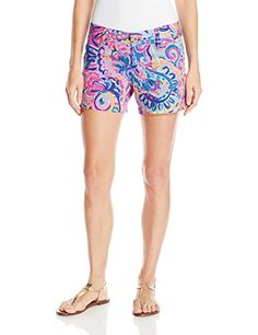 Lilly Pulitzer Womens 19280  Callahan Short Multi Psychedelic Sunshine 2 * For more information, visit image link.