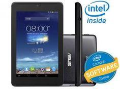 "Tablet Asus Fonepad 7 8GB Tela 7"" 3G Wi-Fi - Android 4.2 Proc. Intel Atom Dual Core Câmera 5MP"