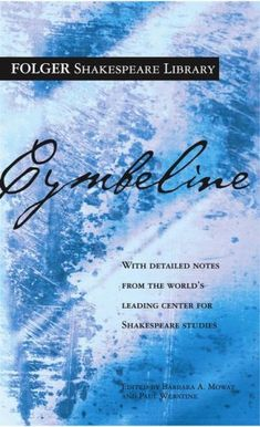 Cymbeline (New Folger Library Shakespeare)