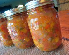 Peach & Tomato Salsa