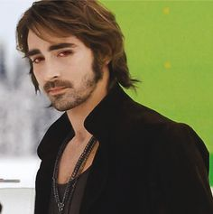 "Lee Pace as vampire Garrett in ""Twilight Saga: Breaking Dawn 2"". I had my suspicions because how the movies were.. but well, he makes quite a hot vampire. A tall, handsome vampire. Nice!"