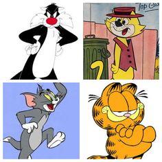 Cool cartoon cats
