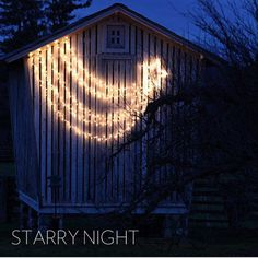 I want to try this on my house for next Christmas outdoor decorating. It is quite simple and elegant.