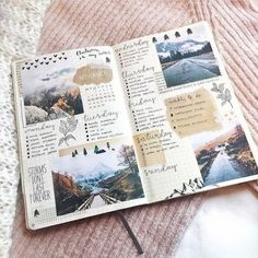 Minimalist Vs Maximalist · - - Are you a minimalist or a maximalist when it comes to your bullet journal? Here are the basics on these common styles. Travel Journal Scrapbook, Scrapbook Pages, Picture Scrapbook, Friend Scrapbook, Diy Scrapbook, Scrapbooking Ideas, Bullet Journal Ideas Pages, Bullet Journal Inspiration, Bullet Journals