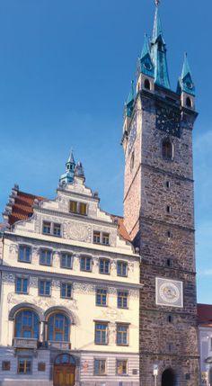 """""""Black Tower"""" in Klatovy (West Bohemia), Czechia"""