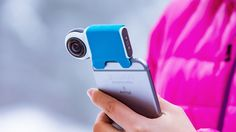 The Giroptic IO is a 360 degree camera to easily shoot immersive photos and video in 360 degree, share on social networks and go live in 360 degree.