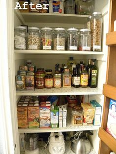 Pretty realistic pantry