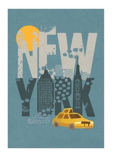 Pin van şebnem kayhan op poster - new york, poster en reizen. Poster Art, Poster Design, Illustration Photo, Retro, Empire State Of Mind, I Love Nyc, Planner, Vintage Travel Posters, Illustrations Posters