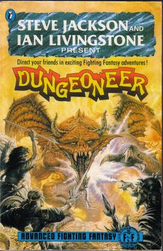 Advanced Fighting Fantasy - Dungeoneer.