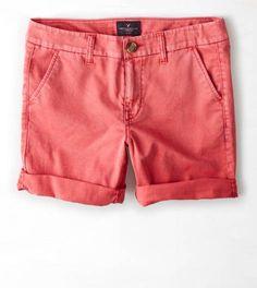 Starlet Pink AEO Khaki Boy Bermuda