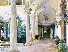 The Loggia, Vizcaya (John Singer Sargent)
