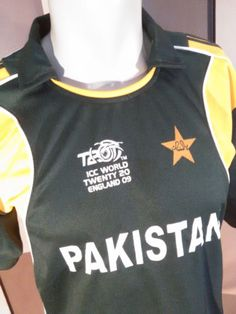 Icc World Twenty20 2009 England International Cricket Jersey-Lg-RarePakistan