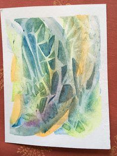 Watercolor Paintings, Abstract, Creative, Art, Watercolor Painting, Water Colors, Summary, Watercolour Paintings