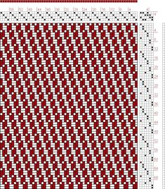 537 best images about 4 shaft drafts on Pinterest | Hand weaving, Loom and Weaving patterns