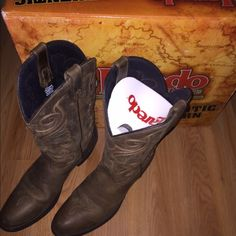 Womens Laredo cowgirl boots Only worn once for 3 hours! In great condition Laredo Shoes Heeled Boots