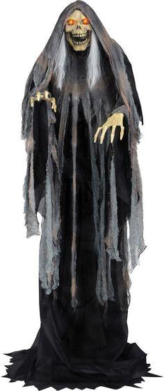 halloween decor n more bog reaper rising animated halloweendecornmorecom