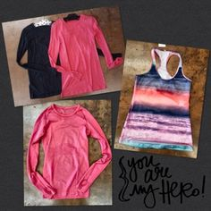 More Lululemon!  - New LULULEMON Arrivals! - New year, new you for 2016! We have new Lululemon! Tops Size 4, $34 Tank, size 10 $28 #lululemon #hustle #newyearnewyou #musthave #ShopPosh #consignment #boutique
