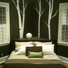 Corner Bed Design Ideas, Pictures, Remodel, and Decor - page 4