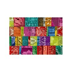 Exclusive Edition Tapijt Modern 4 Turks Patchwork Multi Kleur