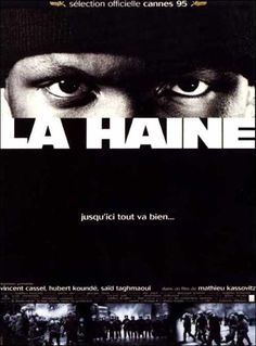 La Haine (French pronunciation: [la ɛn], literally Hate) is a 1995 French black-and-white drama film written, co-edited, and directed by Mathieu Kassovitz. Vincent Cassel, City Of God, Christopher Robin, La Haine Film, Vincent Lindon, Midnight Marauders, Indie, Films Cinema, Movie Posters