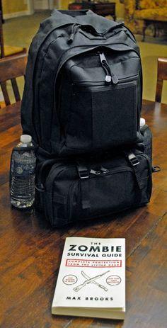 zombie apocolypse bag/survival kit