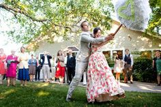 Party with a piñata. Click link to learn more #weddingideas